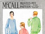 McCall 4972 A