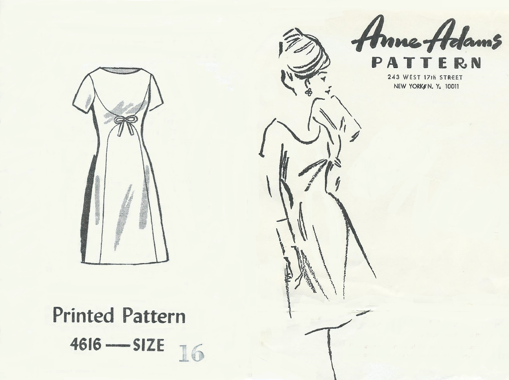 Anne Adams 4616 C