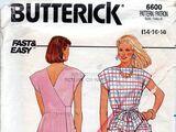 Butterick 6600 A