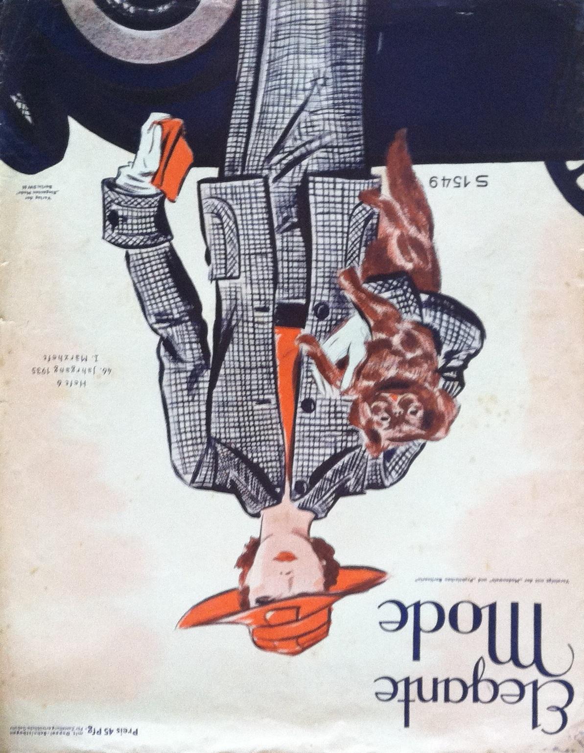 Elegante Mode No. 6 Vol. 46 1935