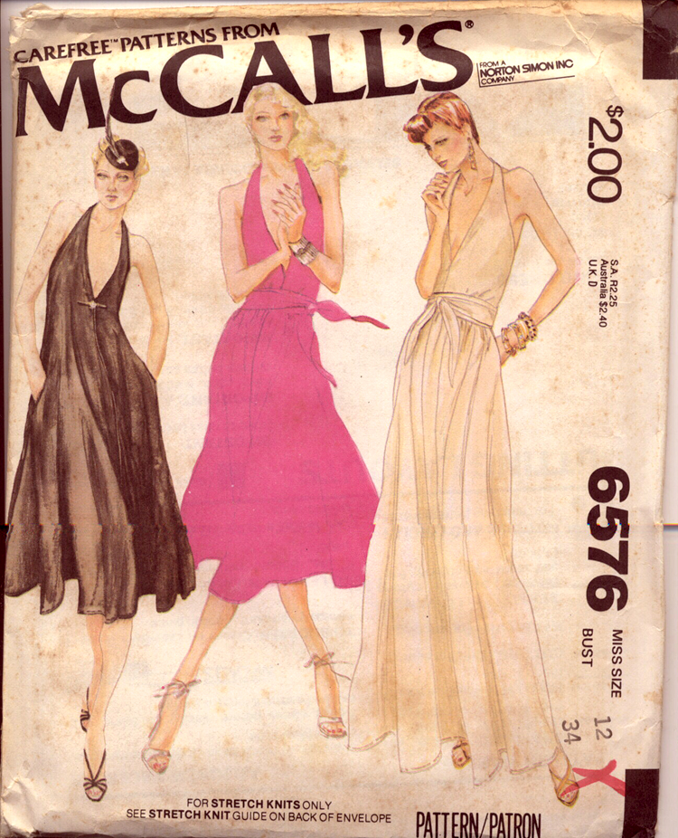 McCall's 6576 A