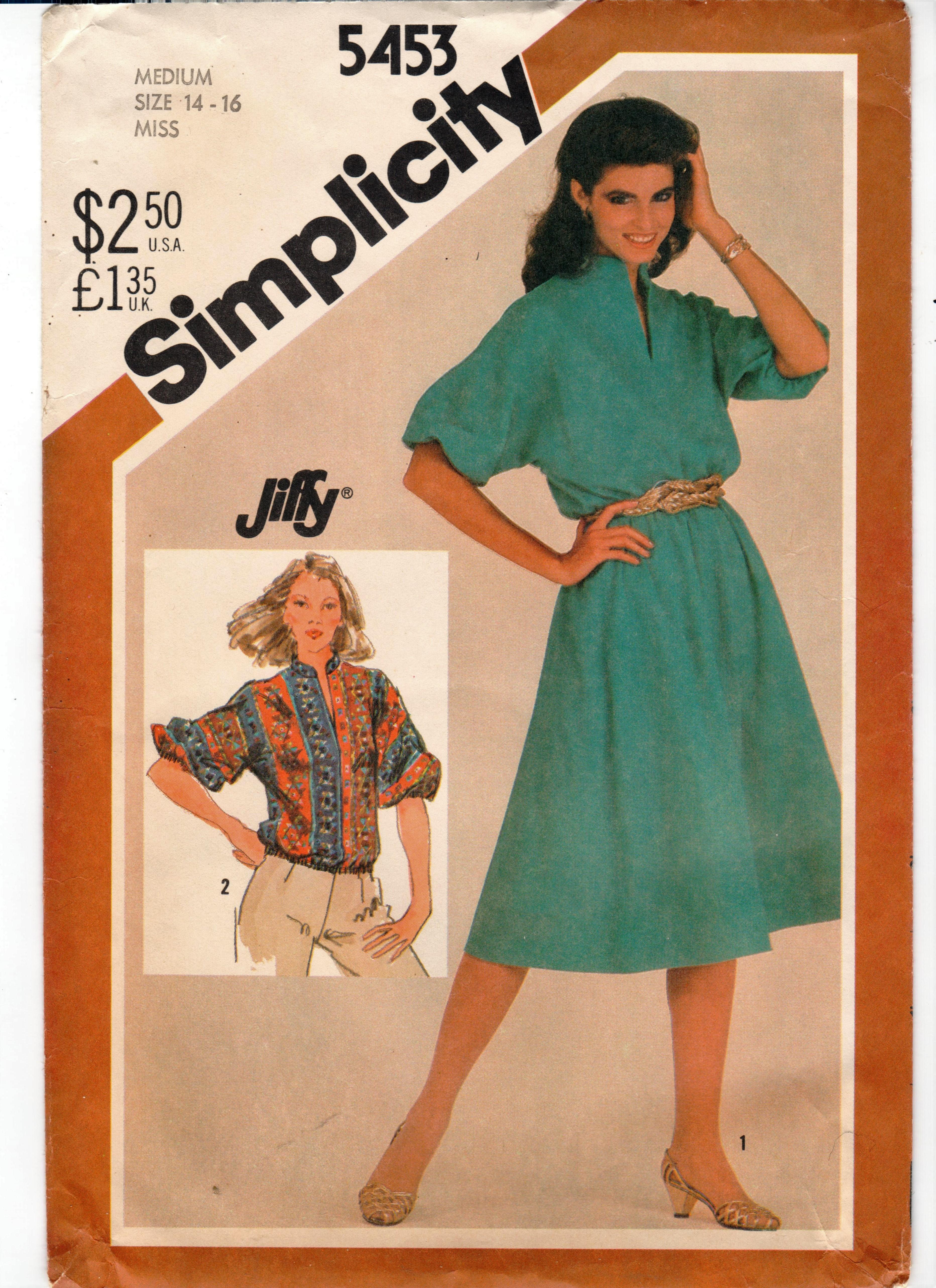 Simplicity 5453 A