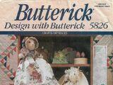 Butterick 5826 B