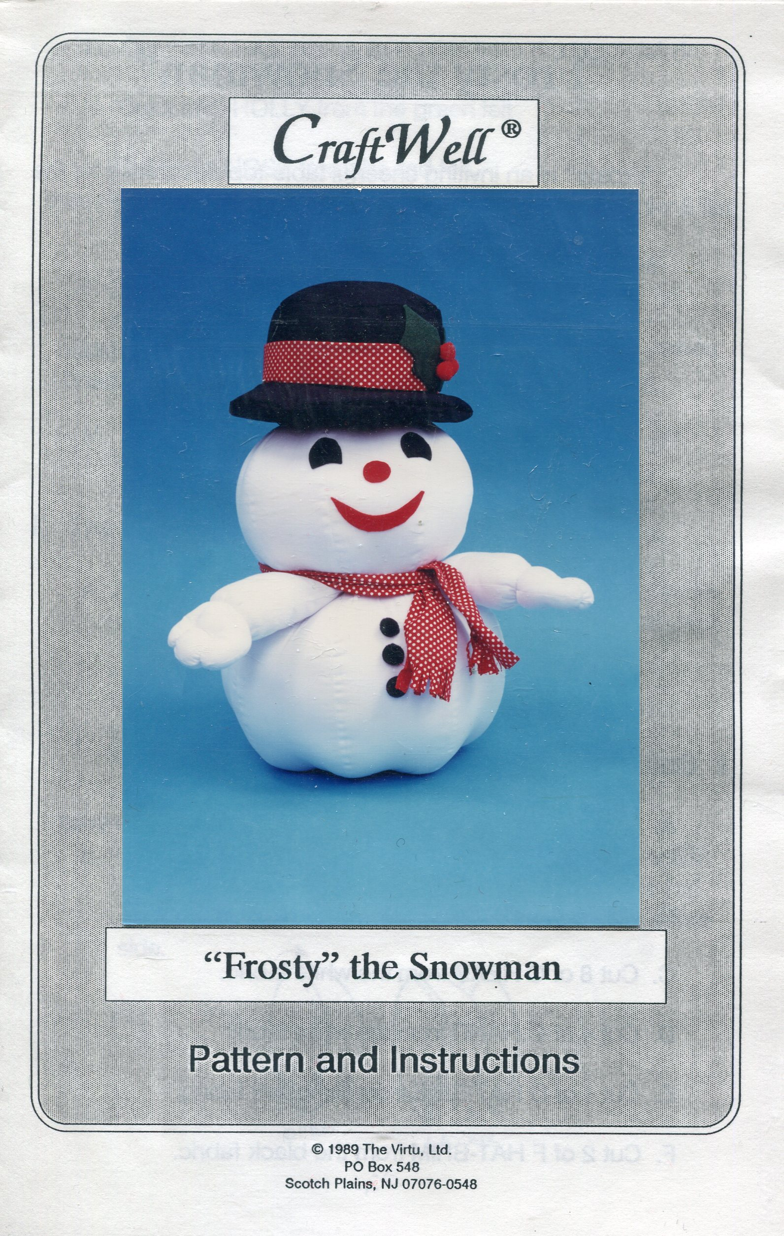 CraftWell Frosty the Snowman