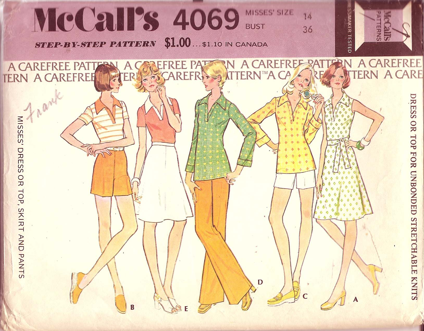 McCall's 4069 A