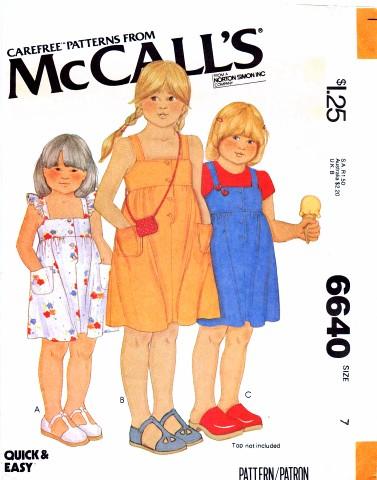 McCall's 6640 A