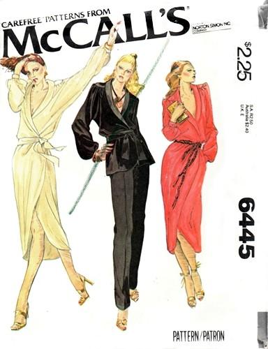 McCall's 6445 A