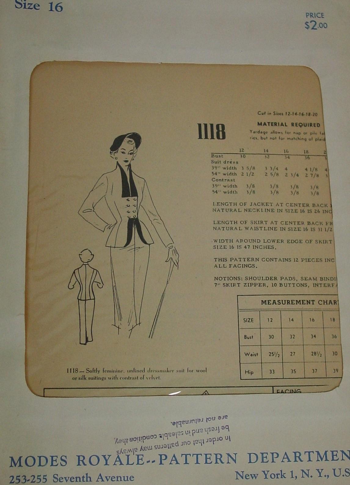 Modes Royale 1118