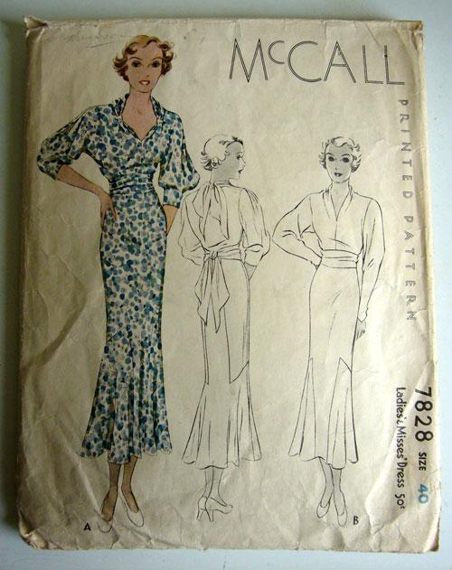 McCall 7828 A