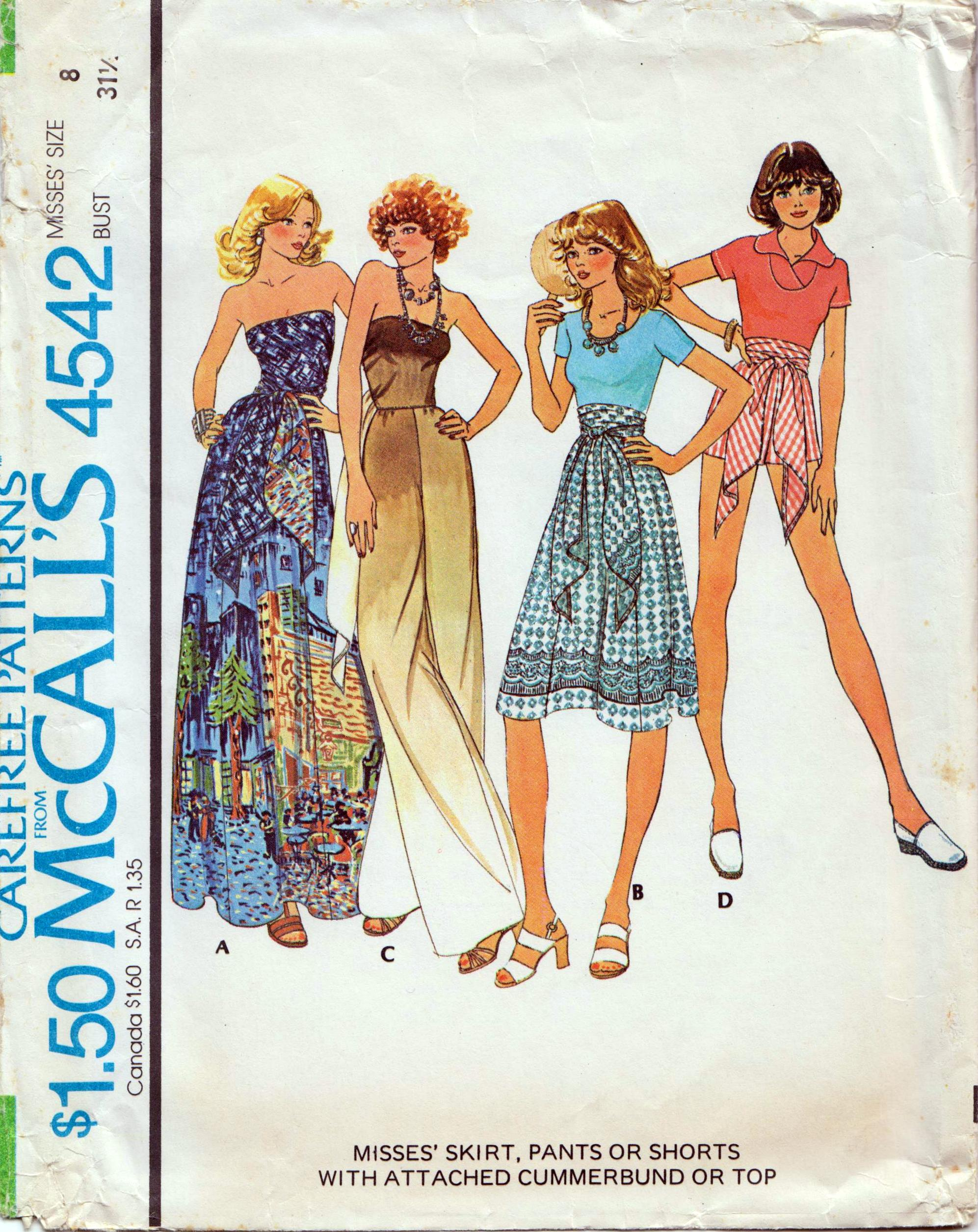 McCall's 4542 B