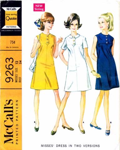 McCall's 9263 A