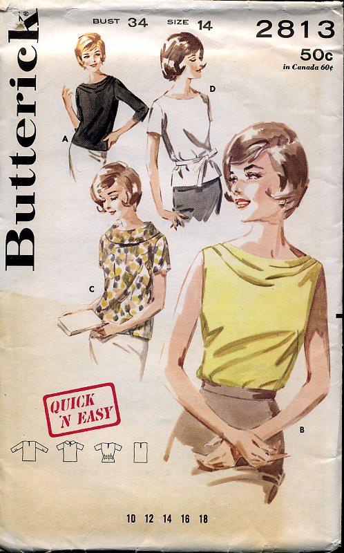 Butterick 2813