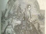 Godey's Lady's Book: Coraco Eugenie, July 1855