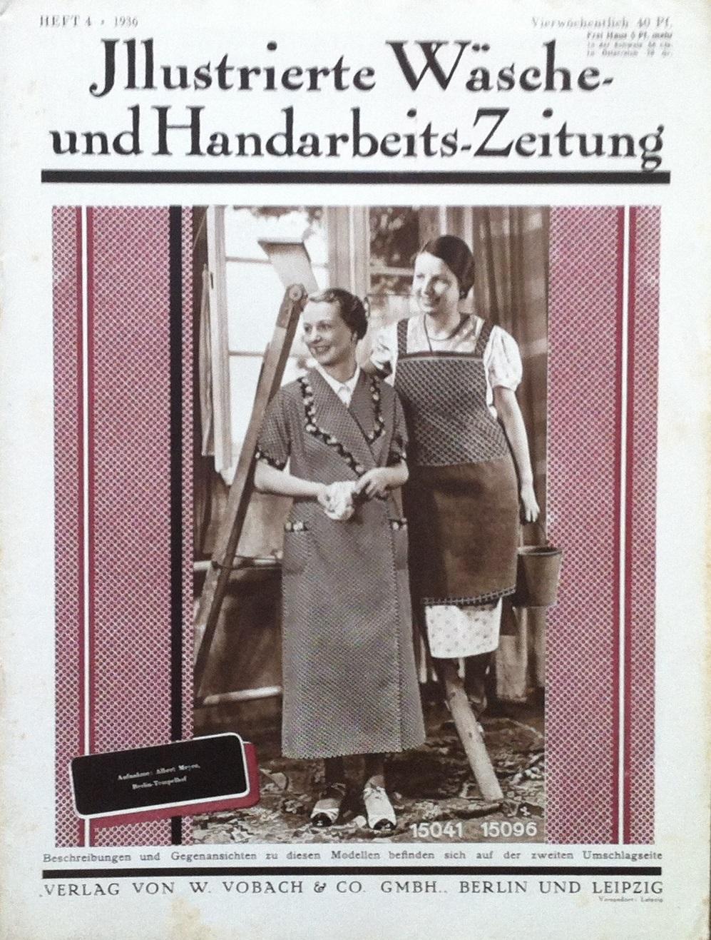 Illustrierte Wäsche- und Handarbeits-Zeitung No. 4 1936