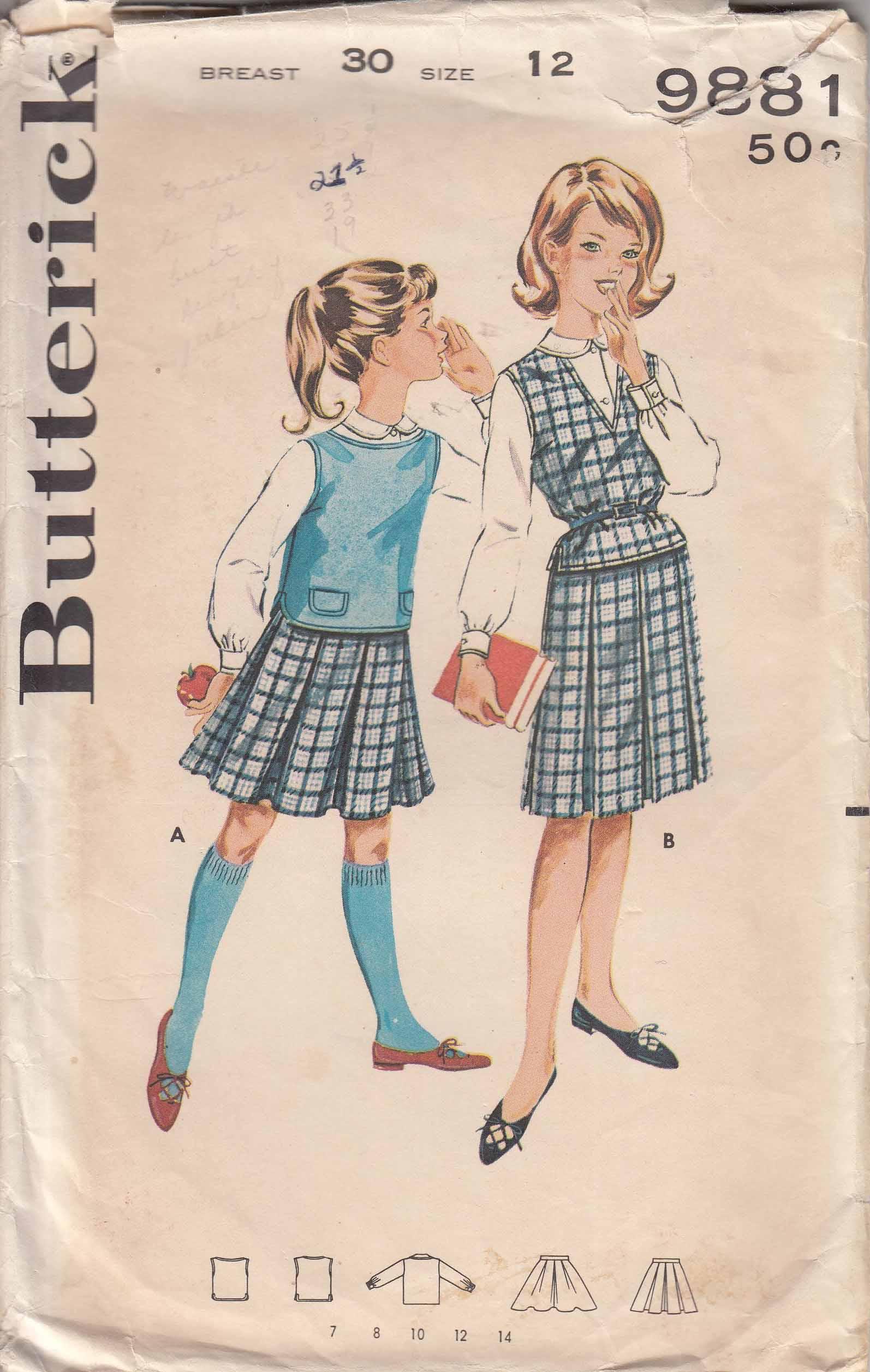 Butterick 9881