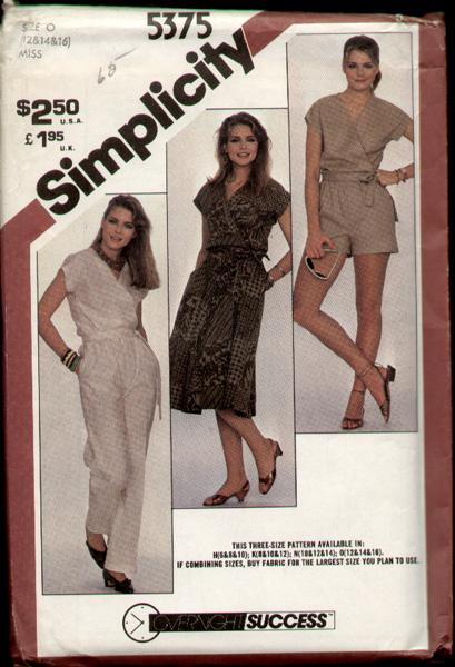 Simplicity 5375 A