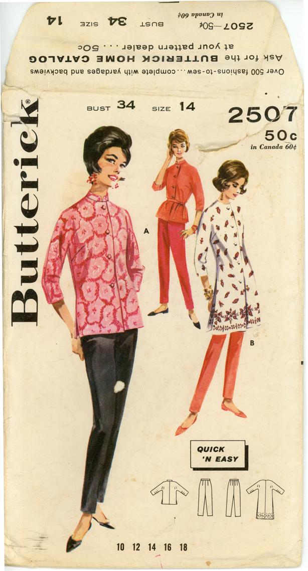 Butterick 2507