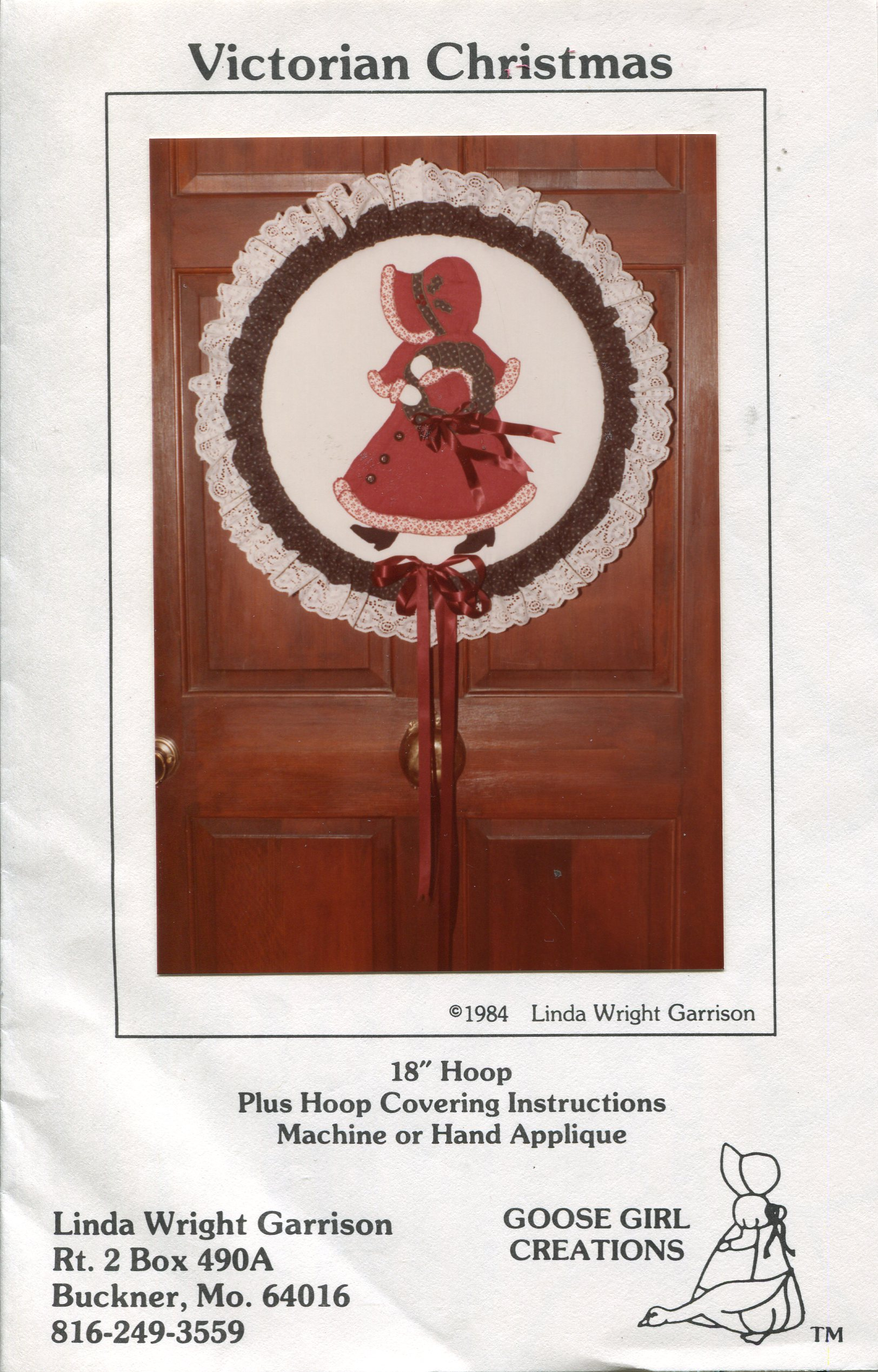 Goose Girl Creations Victorian Christmas