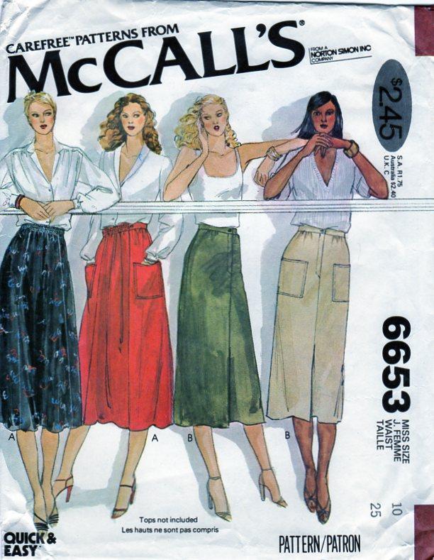 McCall's 6653 A