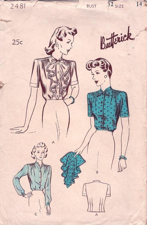 Butterick 2481