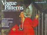 Vogue Patterns December 1972/January 1973