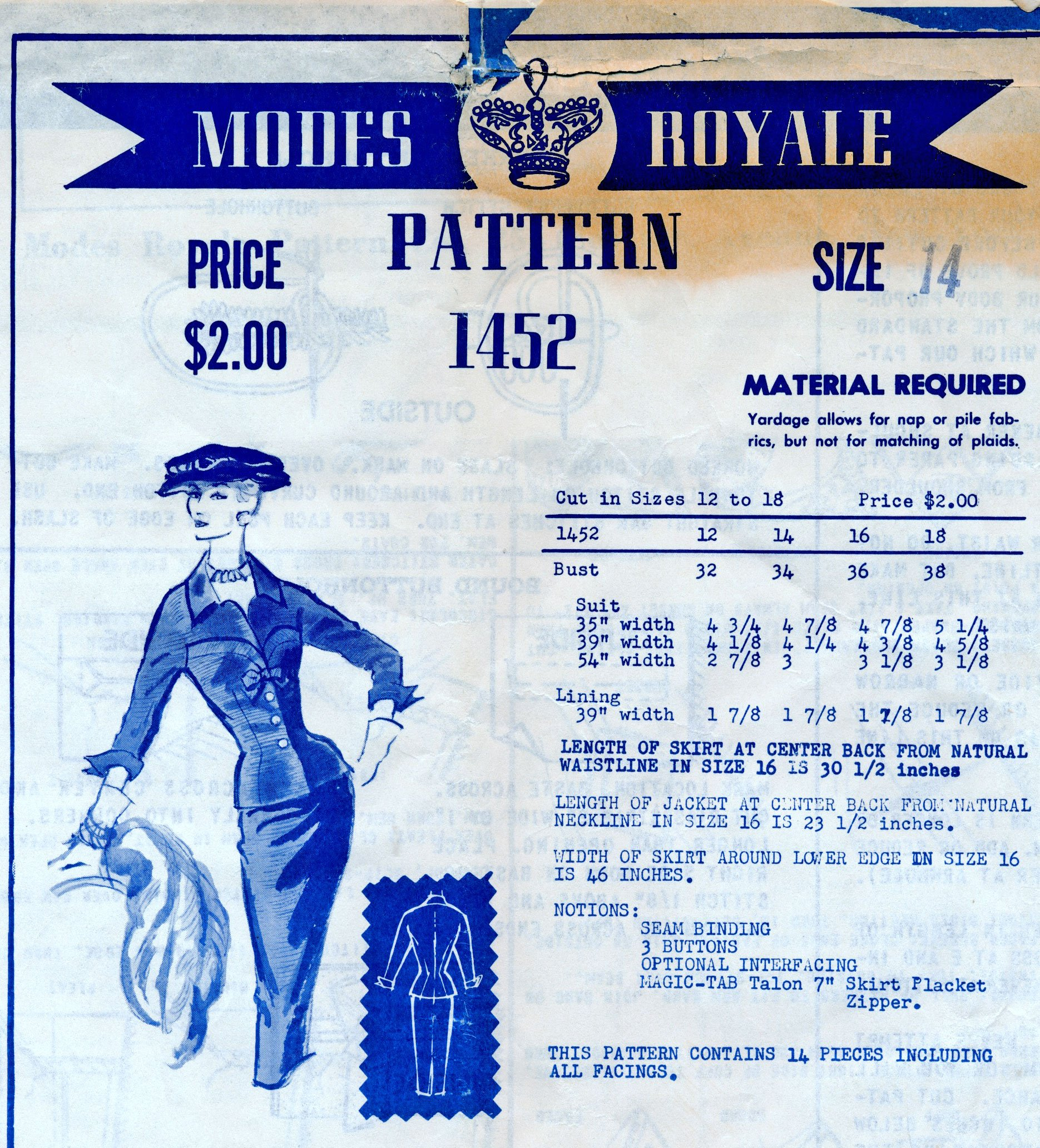 Modes Royale 1452