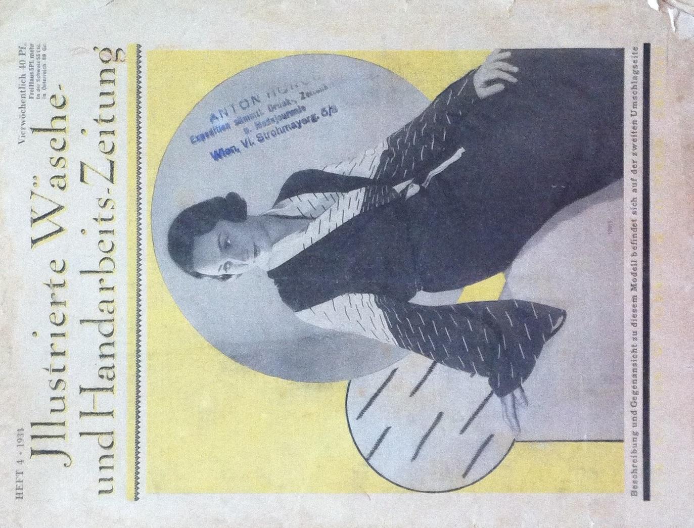 Illustrierte Wäsche- und Handarbeits-Zeitung No. 4 1934