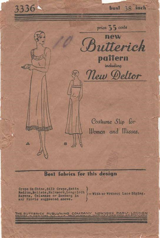 Butterick 3336 B