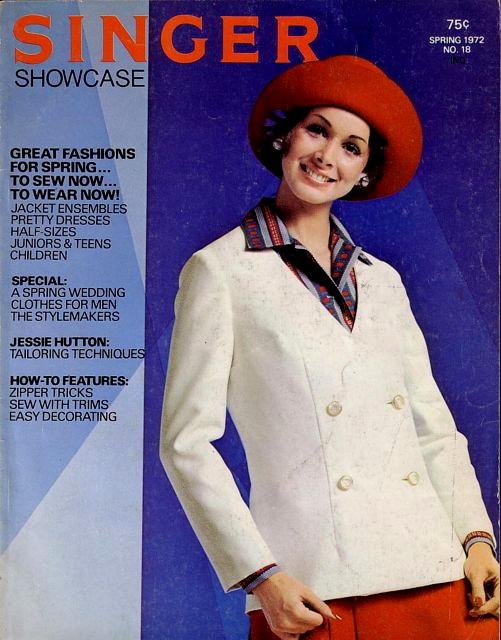 Singer Showcase Spring 1972 No 18