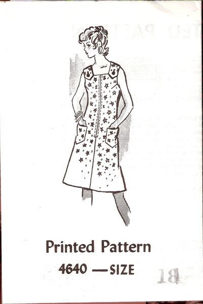 Anne Adams Jumper Dress