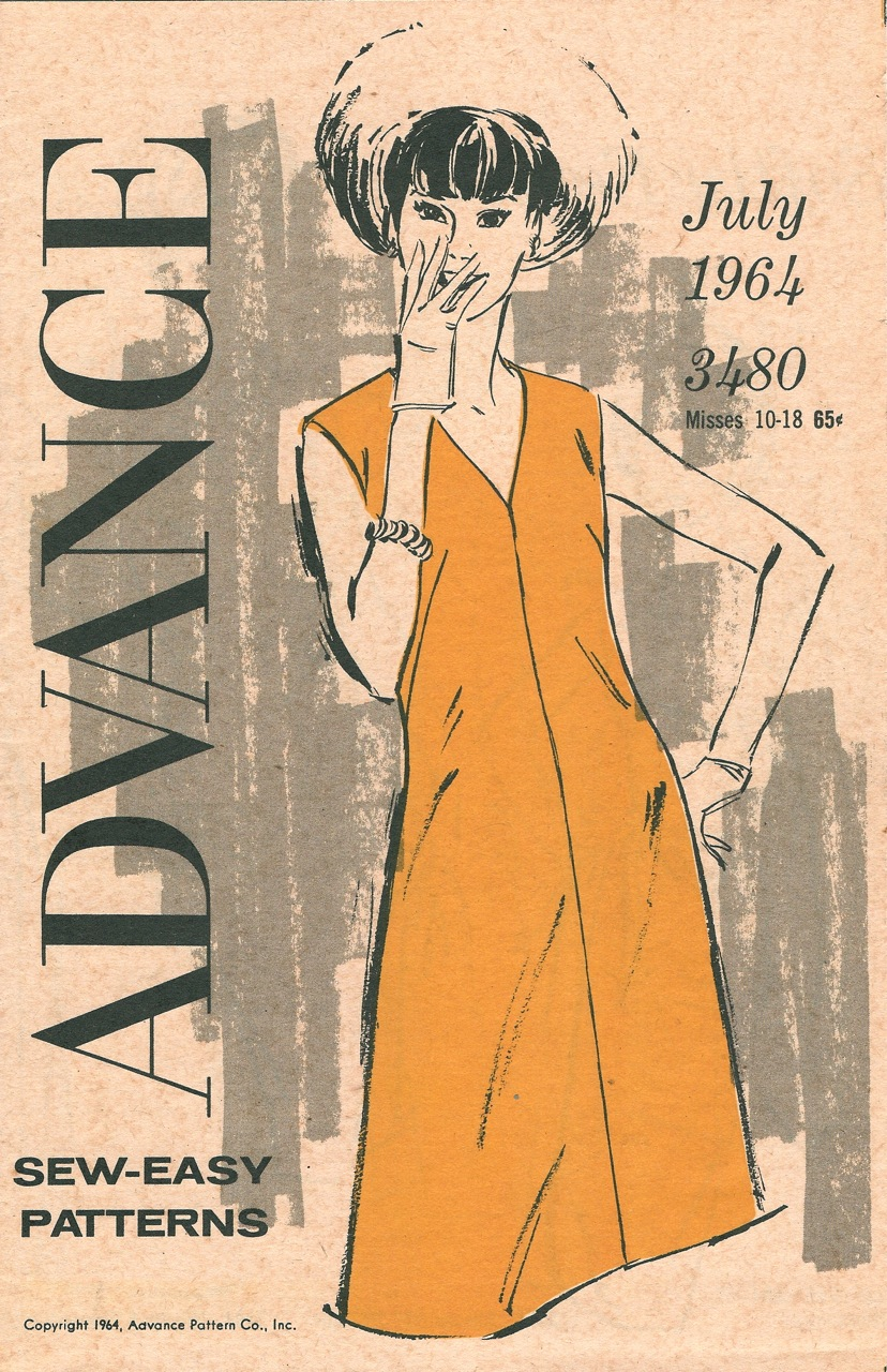 Advance Sew-Easy Patterns July 1964
