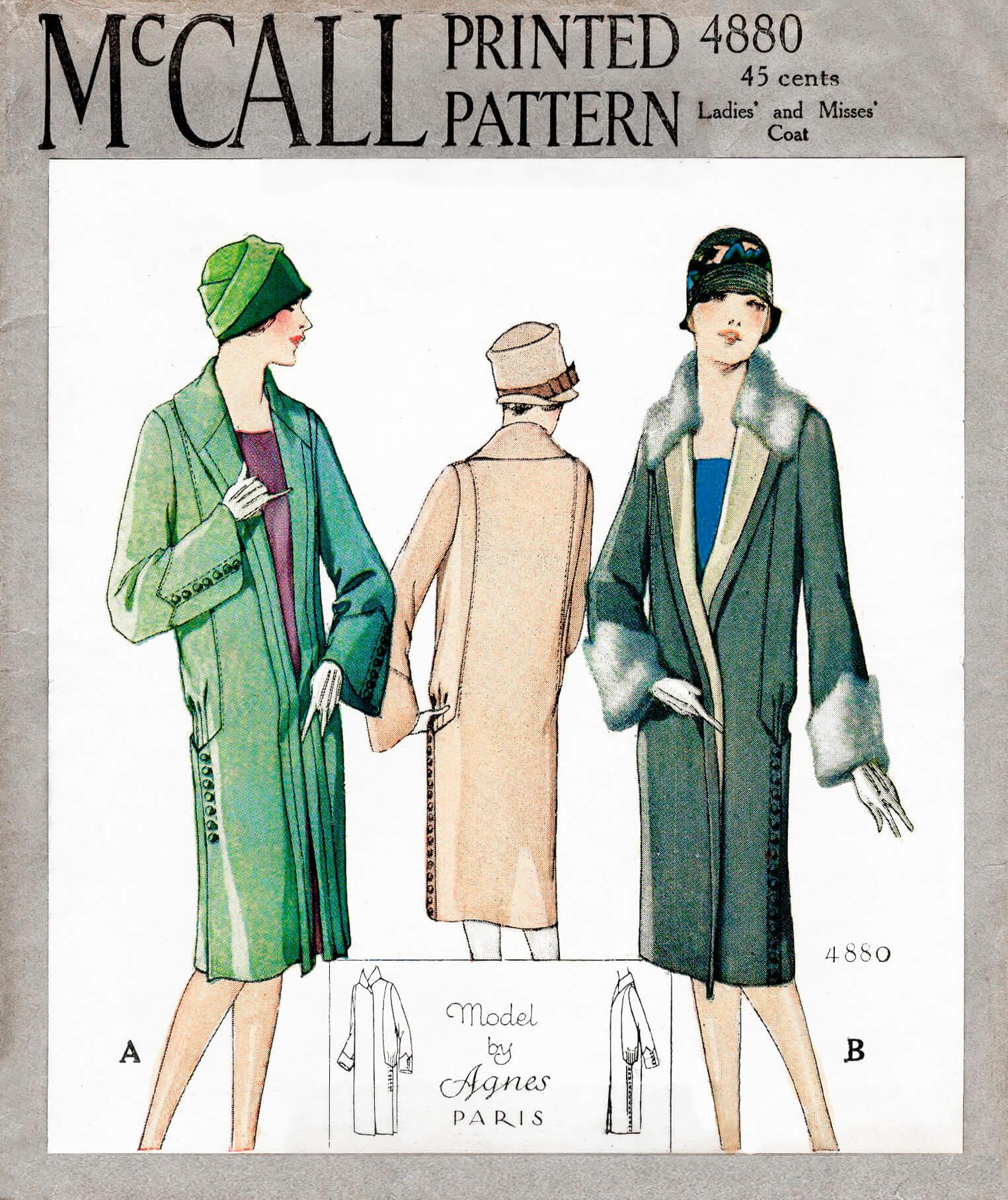 McCall 4880 A