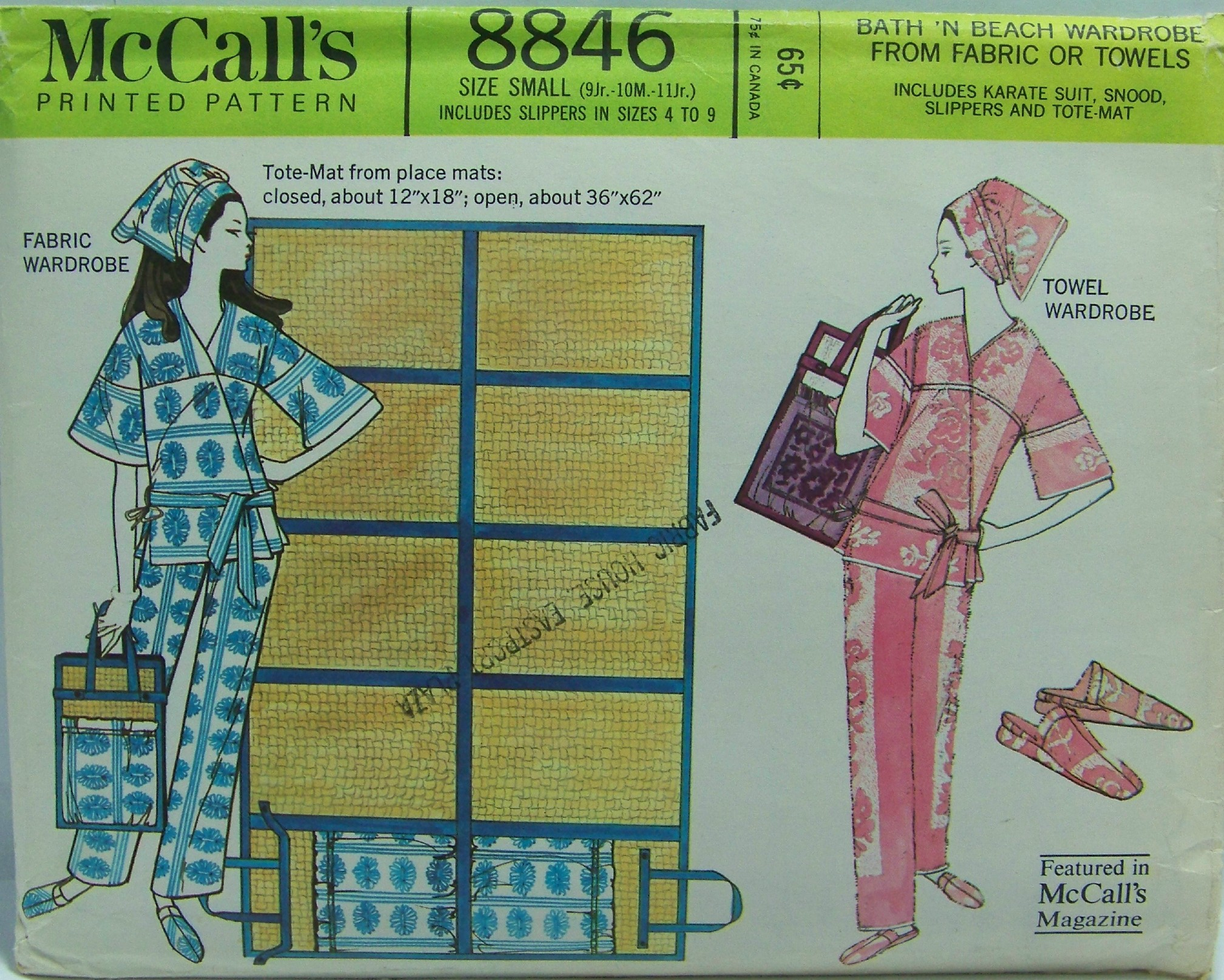 McCall's 8846 A