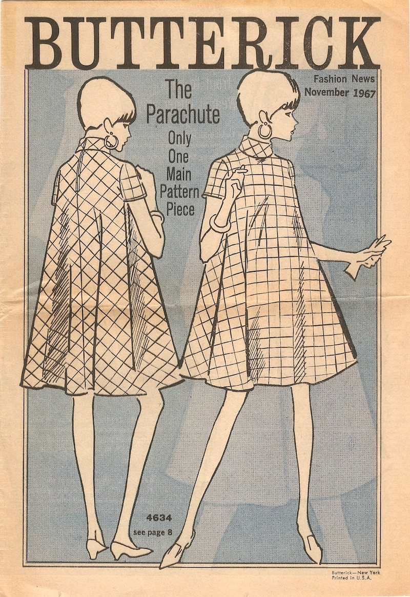 Butterick Fashion News November 1967