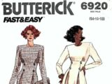 Butterick 6920 C