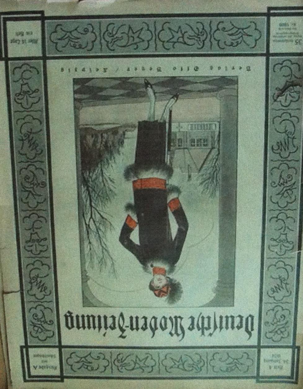 Deutsche Moden-Zeitung No. 4 Vol. 34 1924
