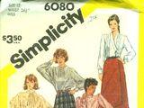 Simplicity 6080 A