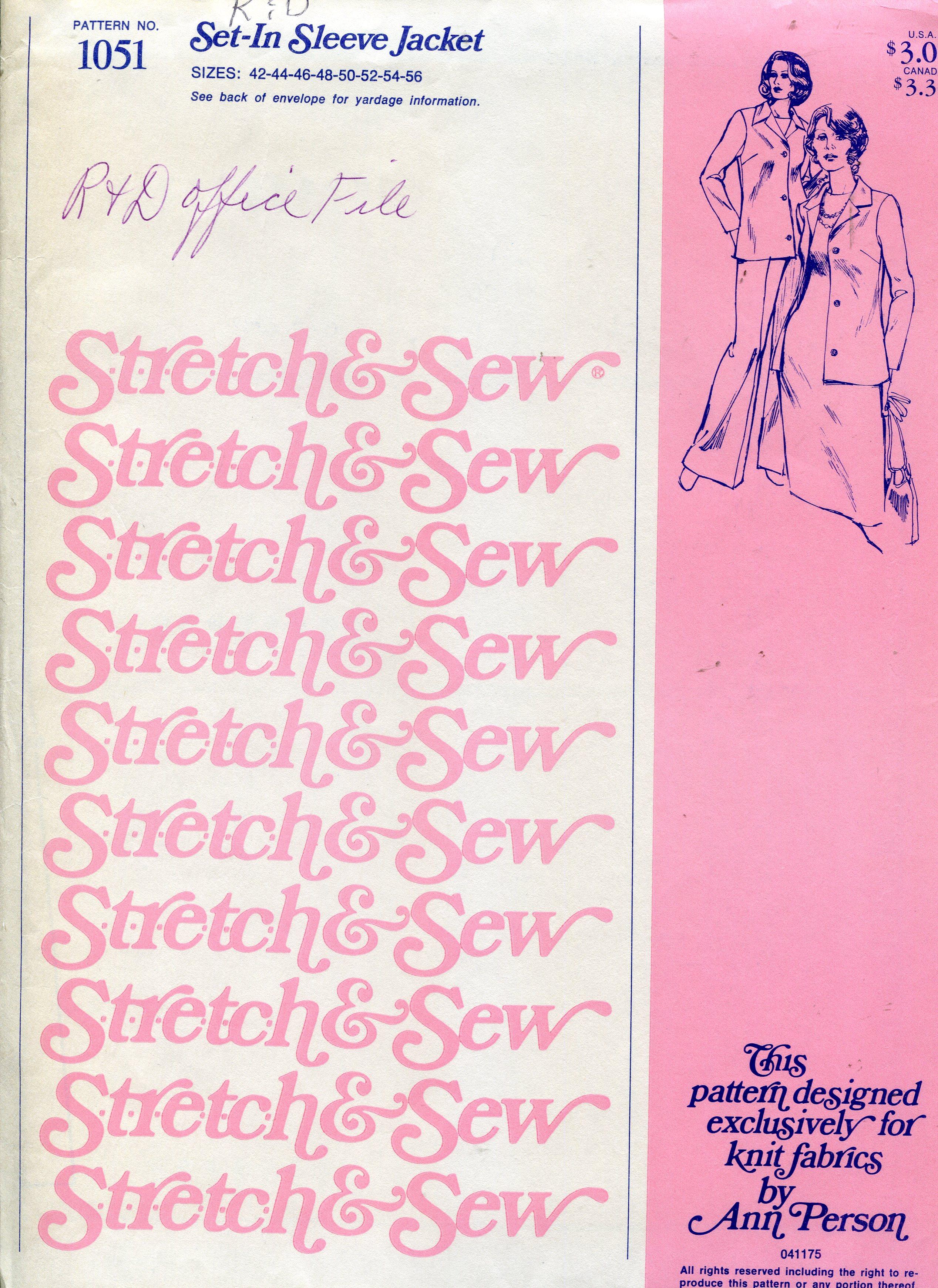 Stretch & Sew 1051