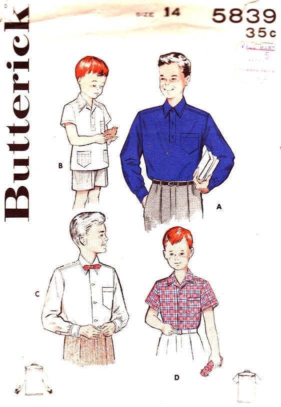Butterick 5839