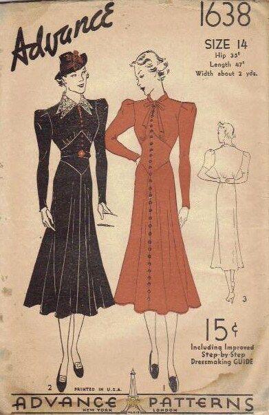 Circa 1933 to 1939