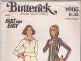 Butterick 4005 B