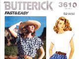 Butterick 3610 B
