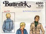 Butterick 4363 A