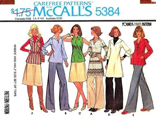 McCall's 5384 A