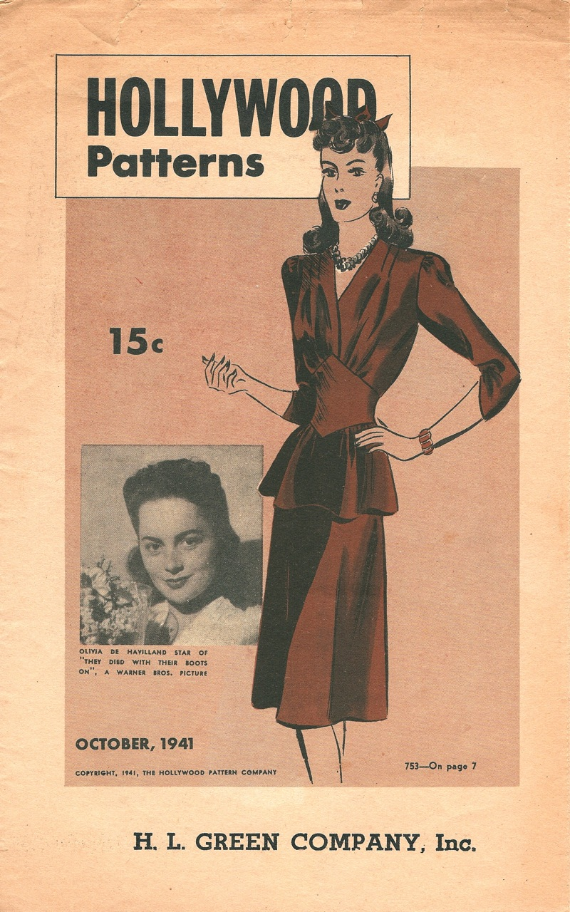 Hollywood Patterns October 1941