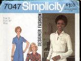 Simplicity 7047