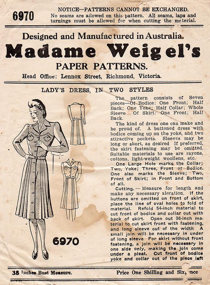 Madame Weigel's 6970