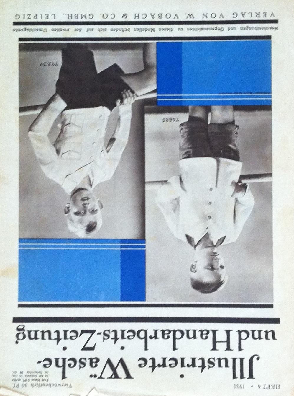Illustrierte Wäsche- und Handarbeits-Zeitung No. 6 1935