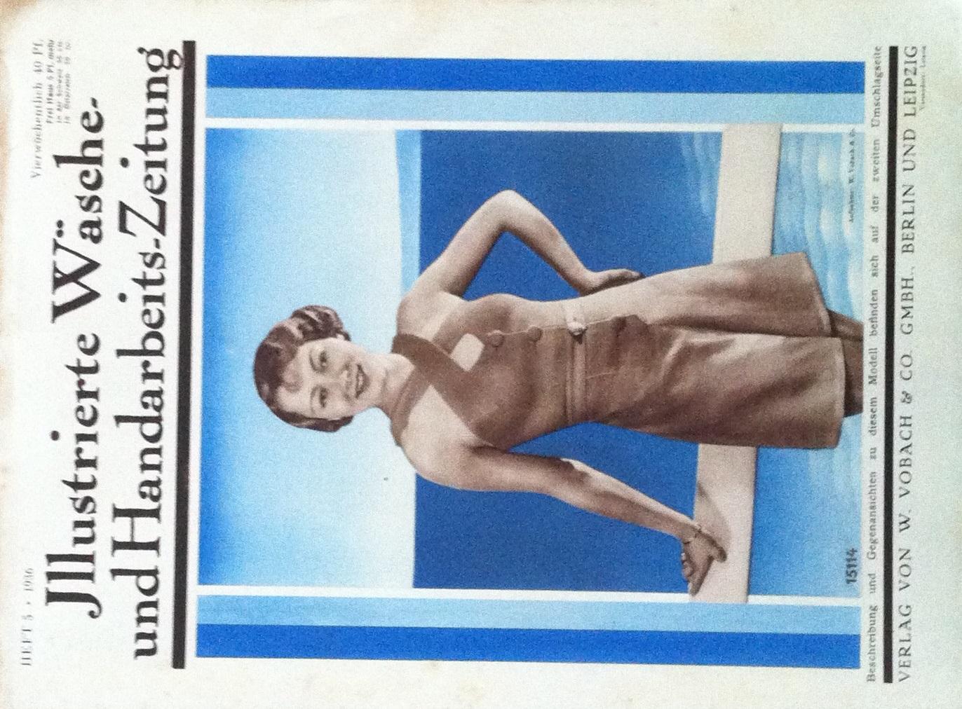 Illustrierte Wäsche- und Handarbeits-Zeitung No. 5 1936