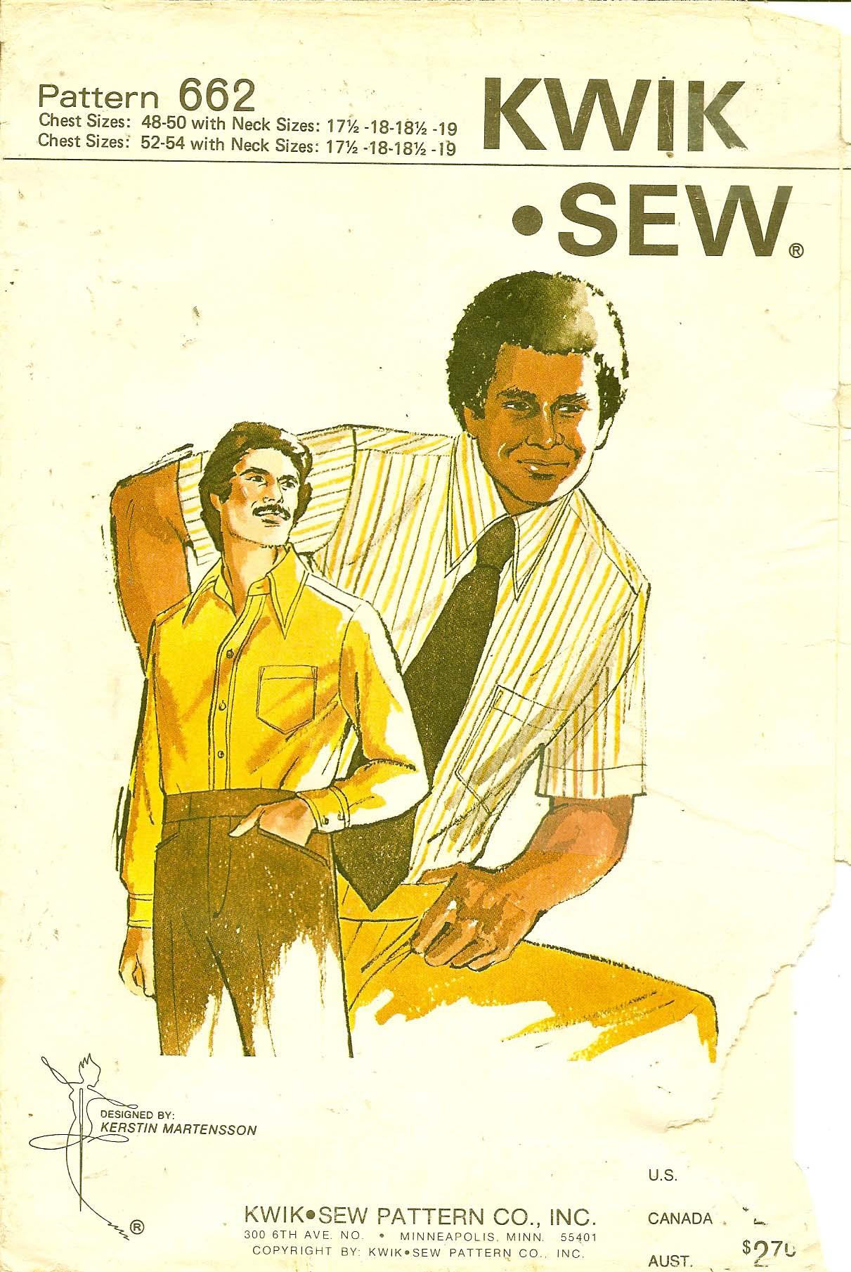 Kwik Sew 662